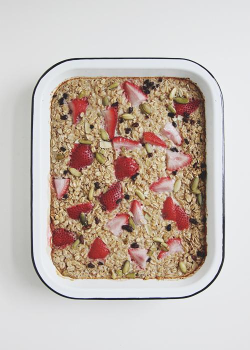 Baked Oatmeal | The Fauxmartha