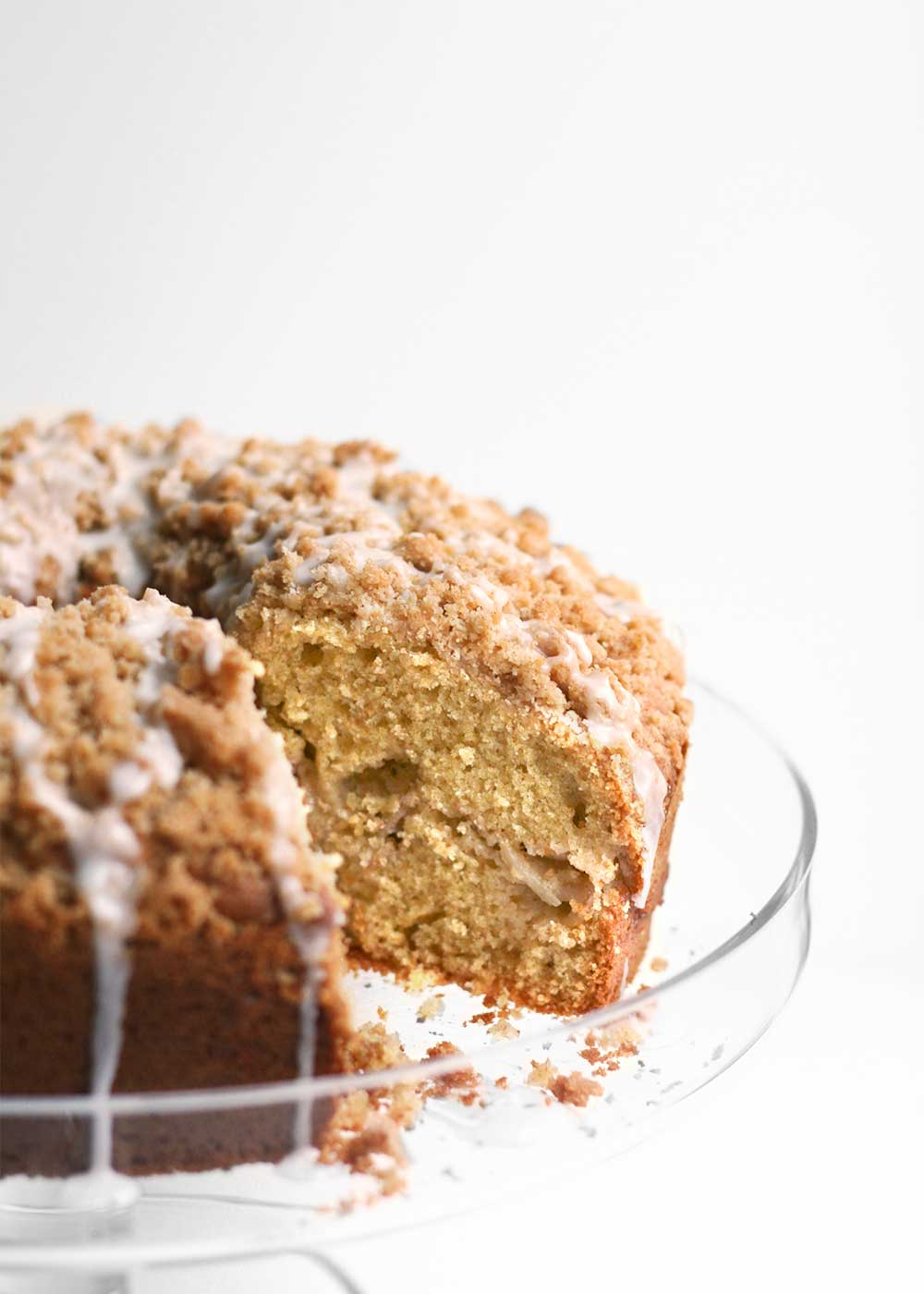 Apple Coffee Cake from the faux martha