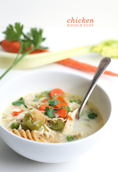 Chicken Noodle Soup | The Fauxmartha