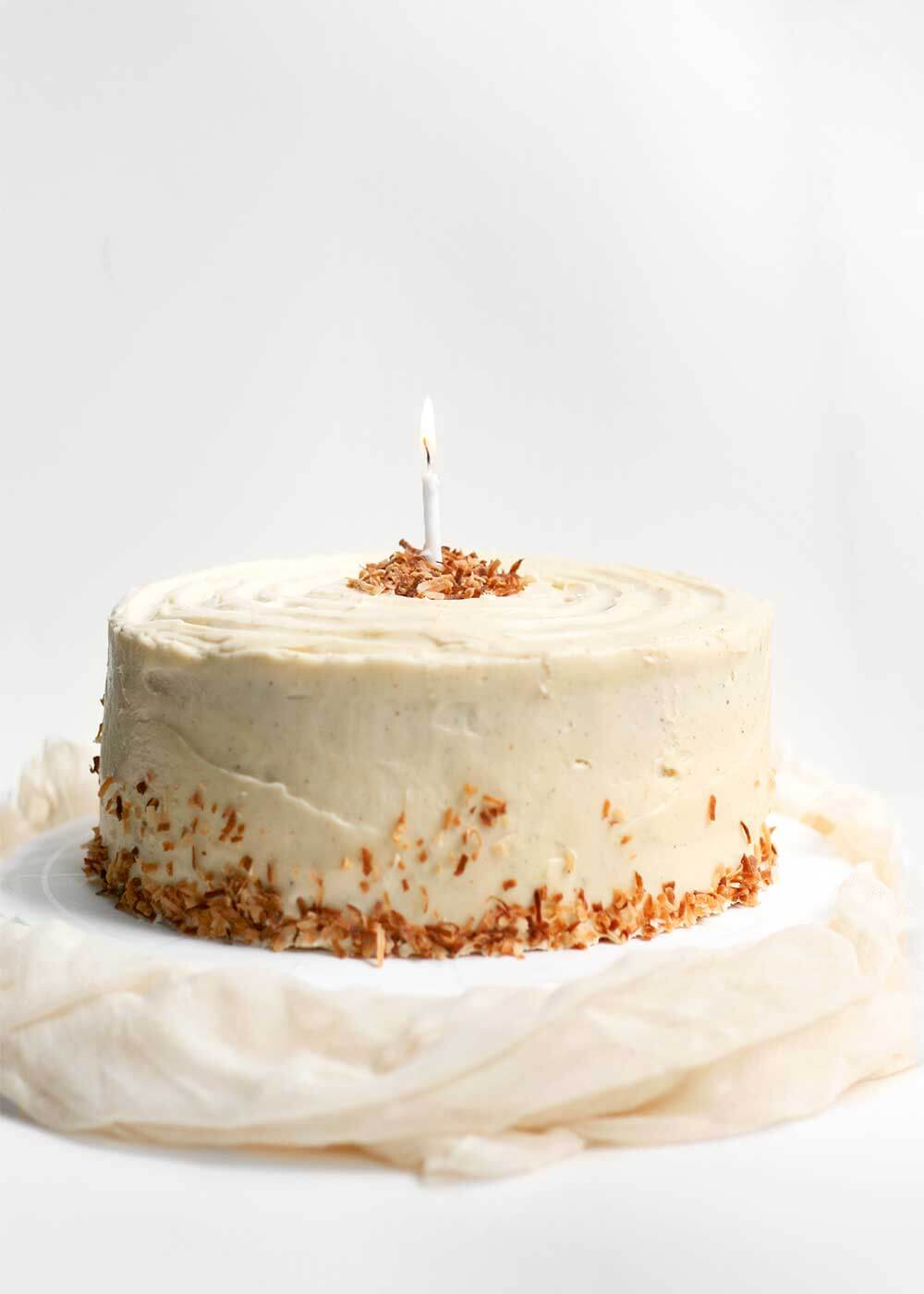 carrot cake from the faux martha