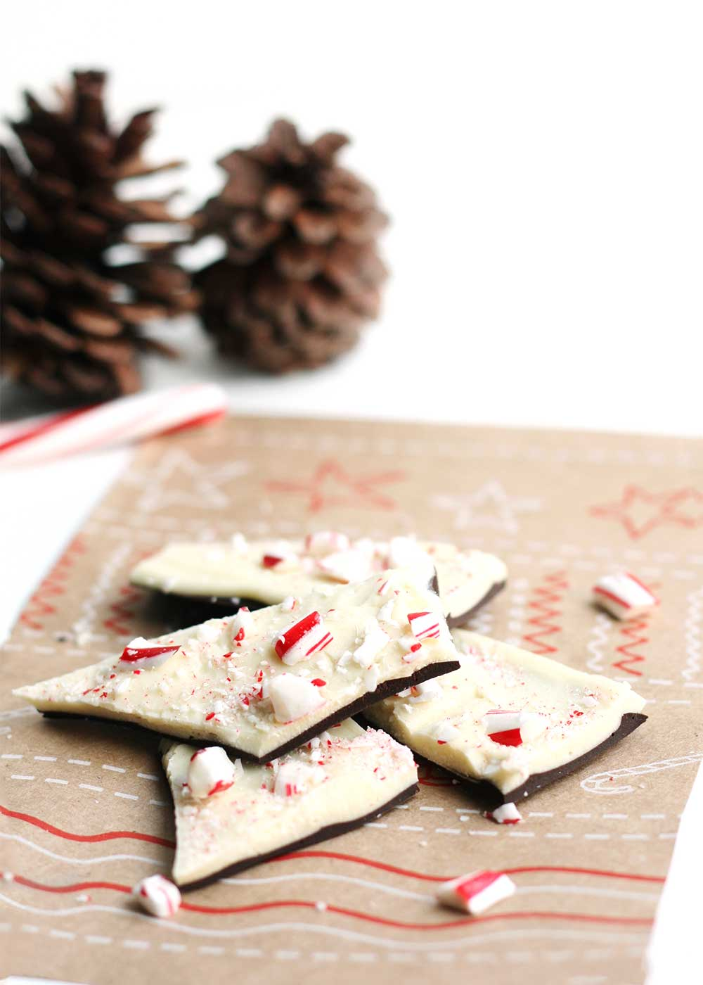 Peppermint Bark from The Faux Martha