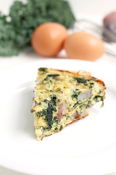 Kale Frittata | The Fauxmartha