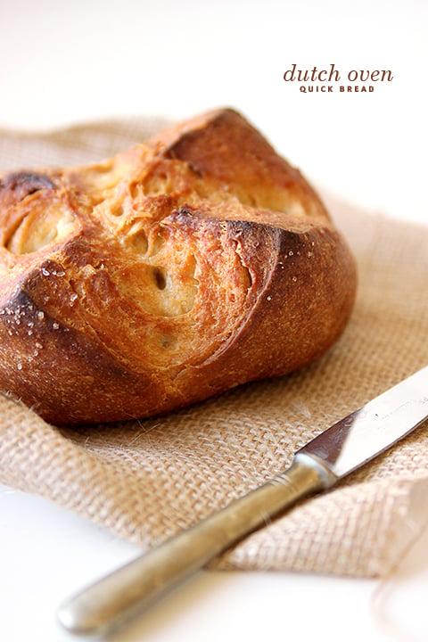 Dutch Oven Quick Bread