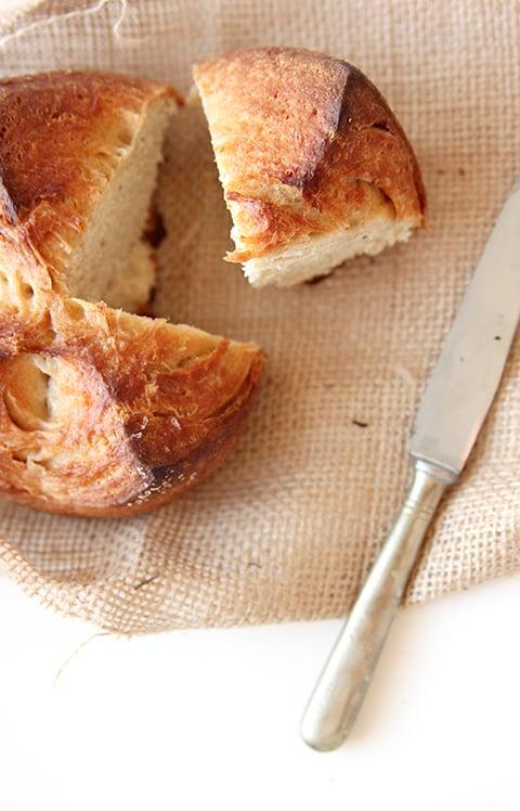 The Fauxmartha | Dutch Oven Quick Bread