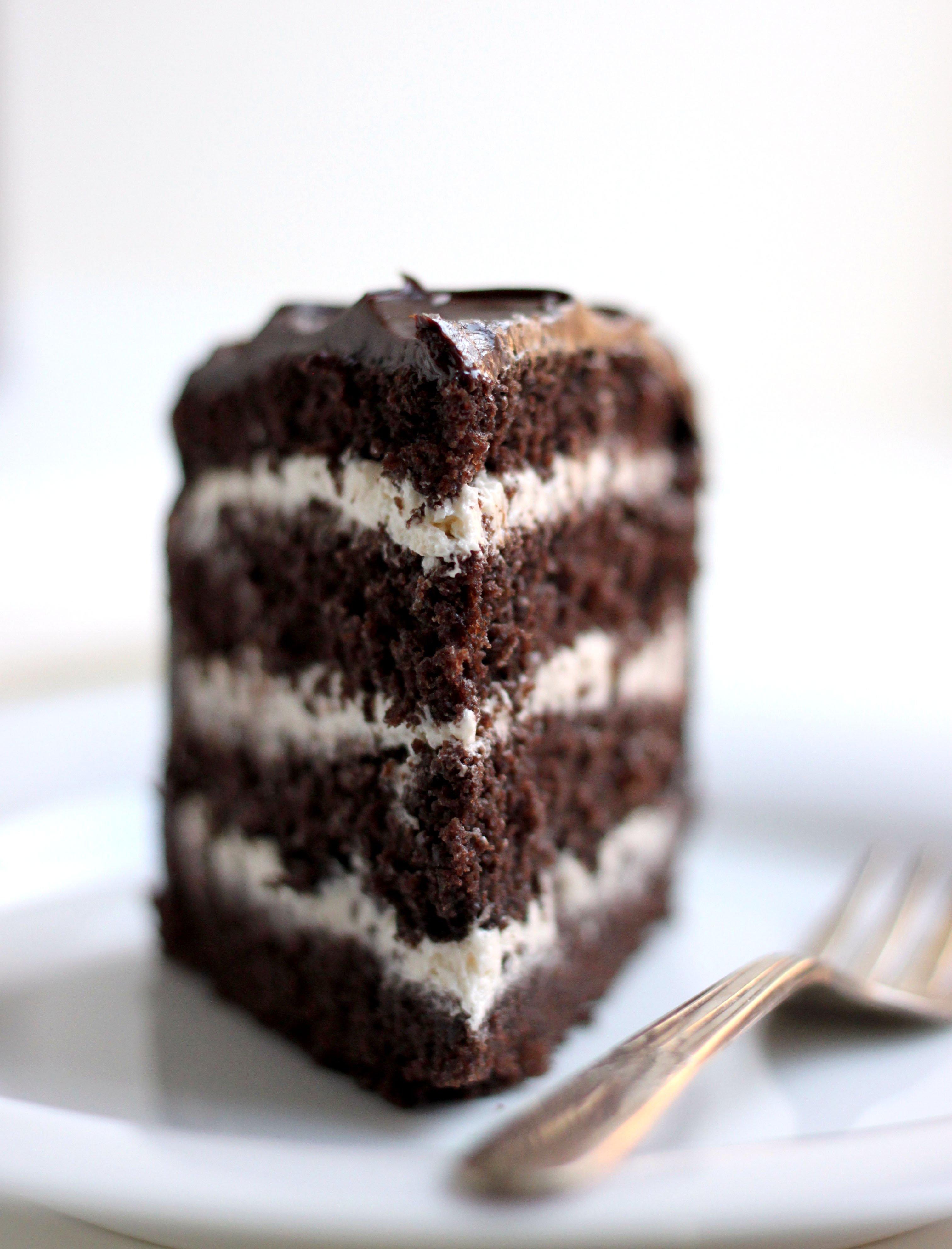 Salted Caramel Chocolate Cake The Fauxmartha