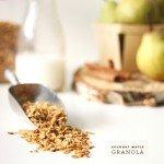 Coconut Maple Granola | The Faux Martha