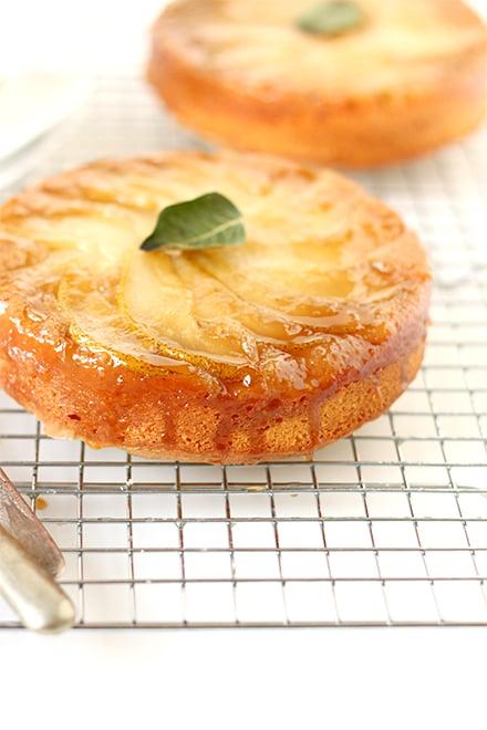 Pear Upside-Down Cake   The Faux Martha