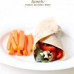 Turkey Balsamic Wrap | The Fauxmartha