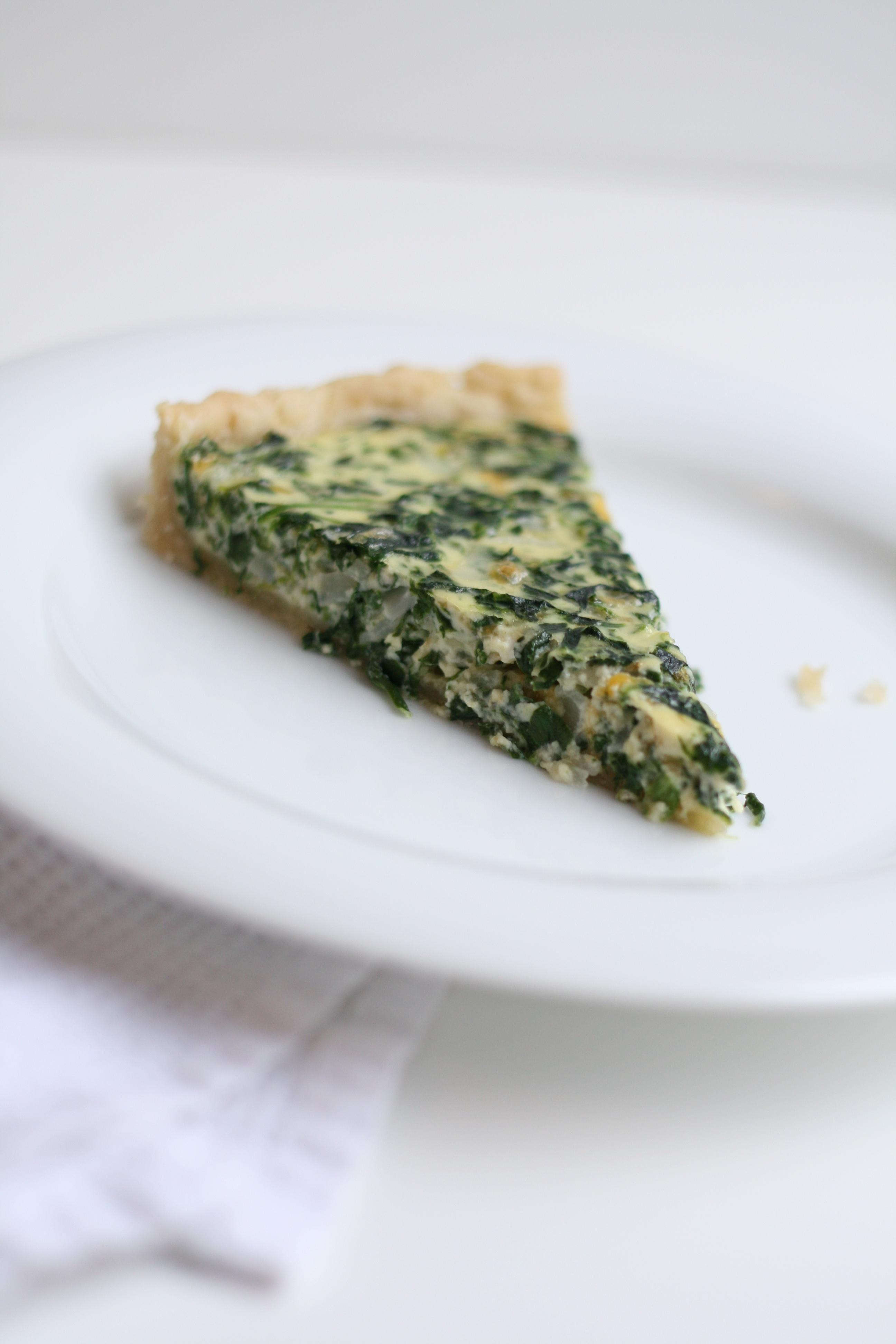 Spinach Quiche Redone - The Fauxmartha