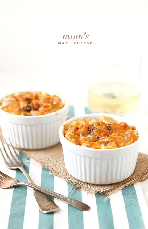 Mom's Macaroni and Cheese | The Fauxmartha