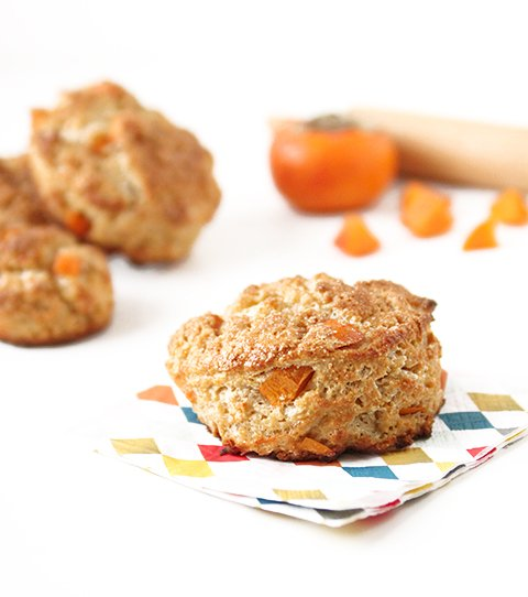 Persimmon Scones | The Fauxmartha