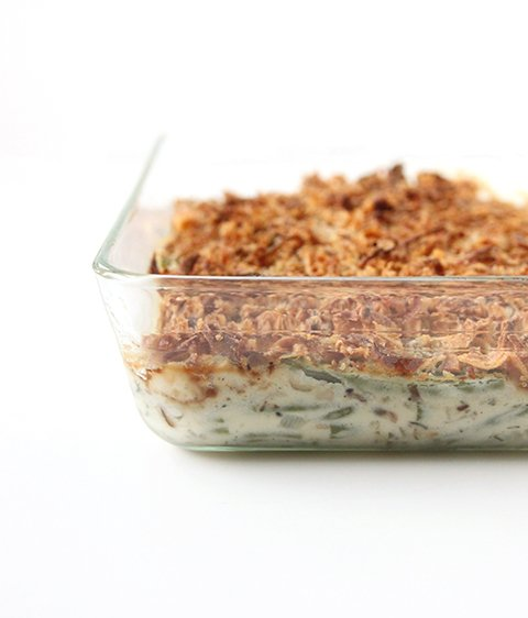 Homemade Green Bean Casserole | The Fauxmartha