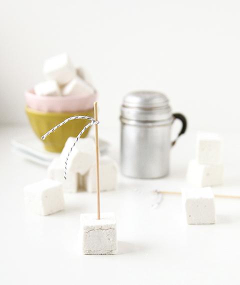 Homemade Marshmallows | The Fauxmartha