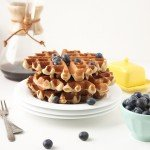 Whole Wheat Waffles | The Fauxmartha