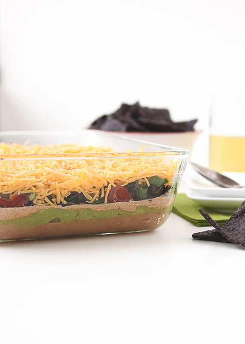 Seven Layer Dip | The Fauxmartha