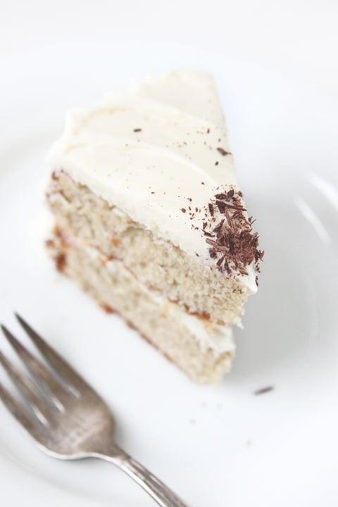 Roasted Banana Cake | The Fauxmartha