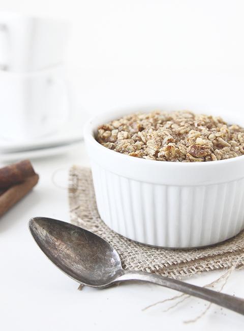 Banana Nut Baked Oatmeal | The Fauxmartha