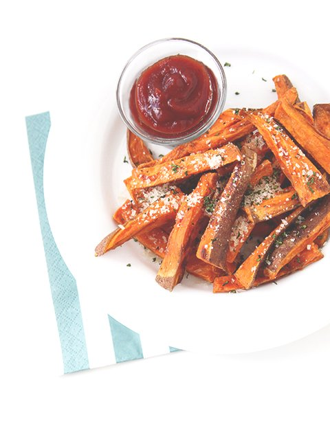 Sweet Potato Fries | The Fauxmartha
