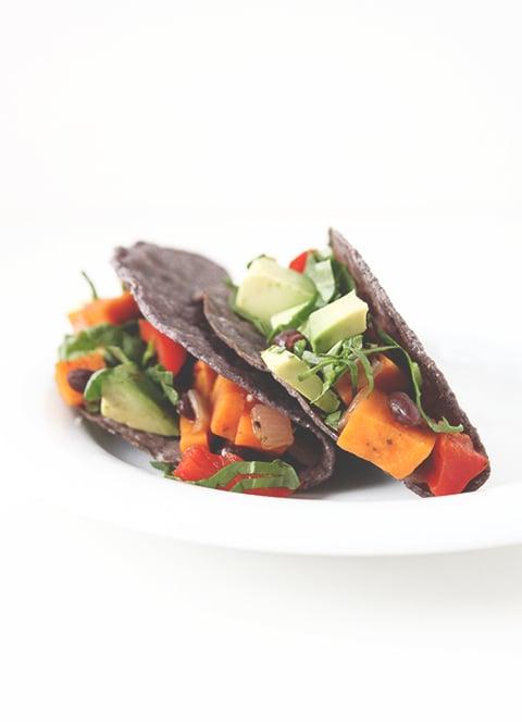 Sweet Potato Tacos | The Fauxmartha