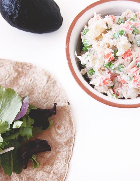 Spring Chicken Salad   The Fauxmartha