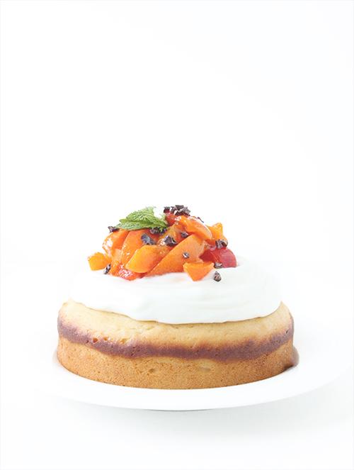 Simple Yogurt Cake | The Fauxmartha