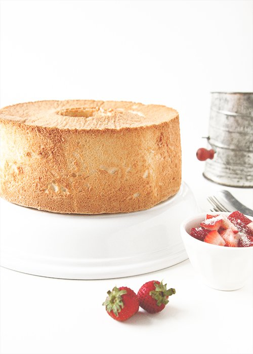 Angel Food Cake | The Fauxmartha