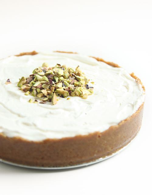 No-bake Orange Cardamom Cheesecake | The Fauxmartha