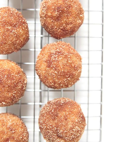 Baked Donut Holes   The Fauxmartha