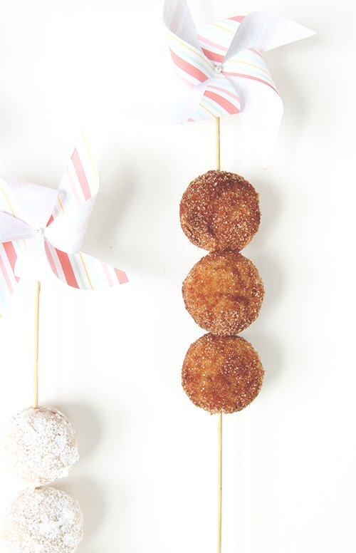 Baked Donut Holes | The Fauxmartha