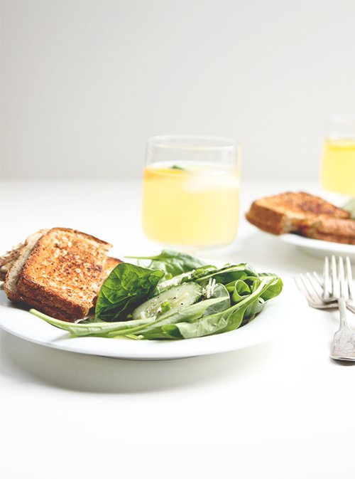 Lemon Garlic Cucumber Salad | The Fauxmartha