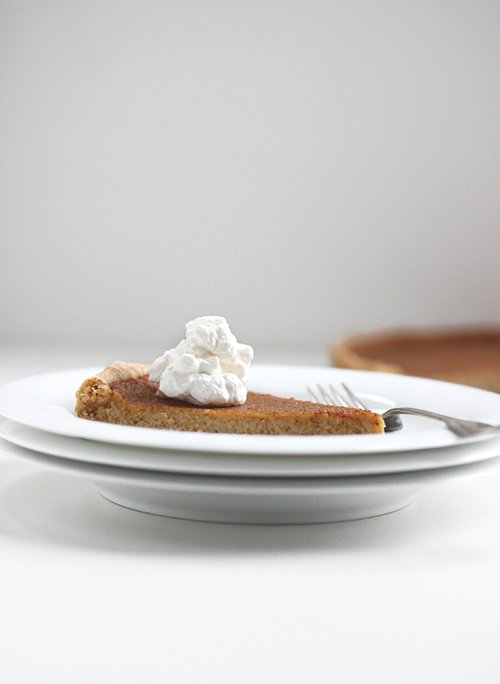 Maple Pumpkin Pie | The Fauxmartha