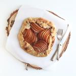 Pear Almond Galette | The Fauxmartha