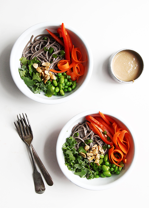 Amazing Soba Bowl | @thefauxmartha