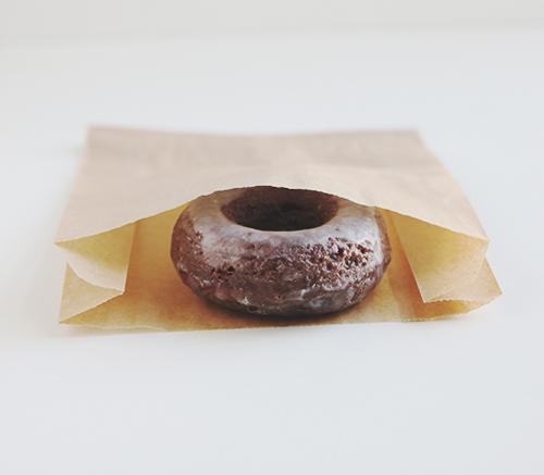 Glazed Chocolate Donuts | The Fauxmartha