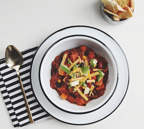 Vegetarian Chili | The Fauxmartha