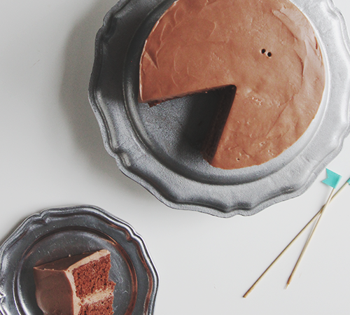 Salted Nutella Buttercream | The Fauxmartha