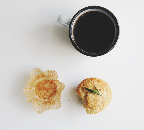 Orange Rosemary Muffins | The Fauxmartha