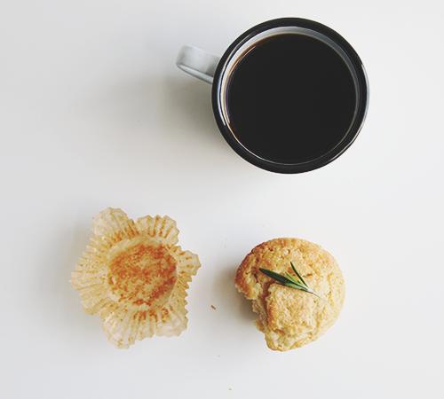 Orange Rosemary Muffins   The Fauxmartha