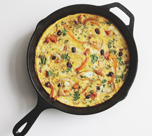 Mexican Frittata | The Fauxmartha