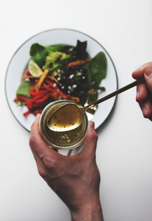 Cilantro Lime Salad | The Fauxmartha