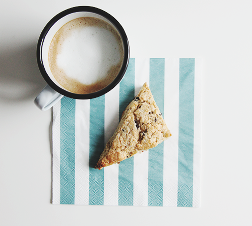 Walnut Cacao Scones | The Fauxmartha