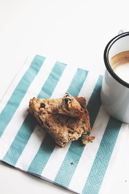 Walnut Cacao Scones | The Fauxmartha