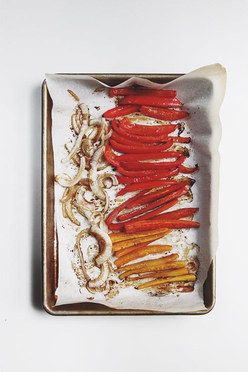 Roasted Veggie Wrap | The Fauxmartha