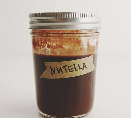 Nutella Syrup | The Fauxmartha