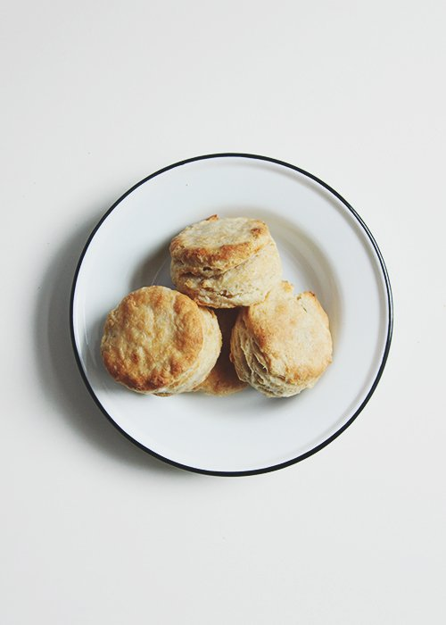 Weekend Biscuits with Wheat | The Fauxmartha