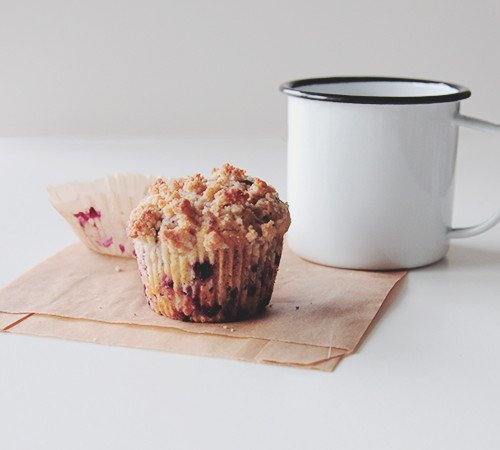 Blackberry Thyme Muffins | The Fauxmartha