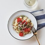Quick Summer Pasta | The Fauxmartha