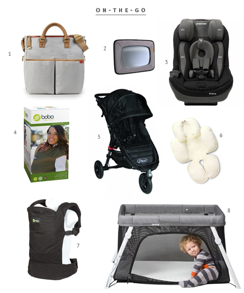 Essential Baby Traveling items from The Fauxmartha