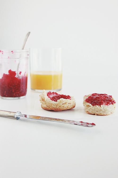 Quick Raspberry Jam | The Fauxmartha