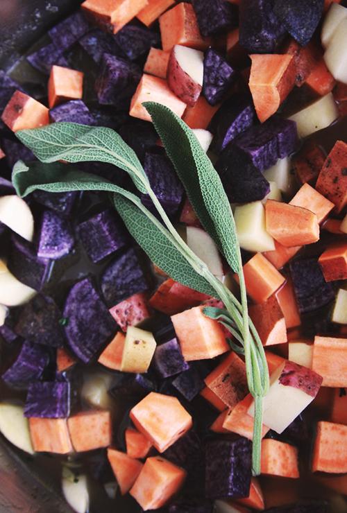 Veggie Pot Pies in a Mug | The Fauxmartha